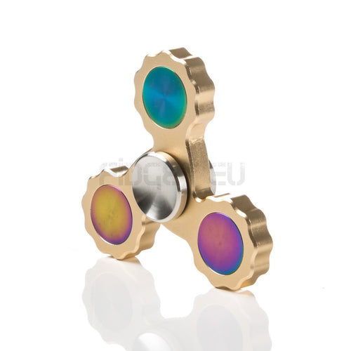 Juno Tri Fidget Spinner with r188 Hybrid Ceramic Bearing
