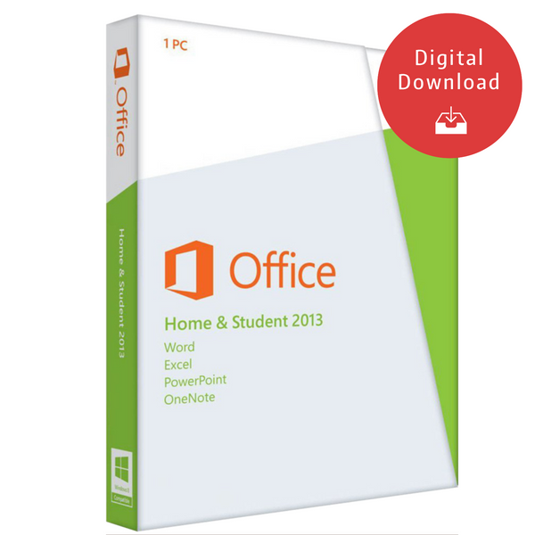 Microsoft Office - Home and Student 2013