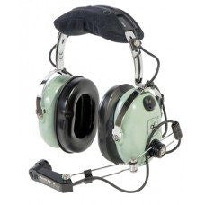 DAVID CLARK HEADSET/HELICOPTER/M-1/DC AMPLIFIED DYNAMIC MIC