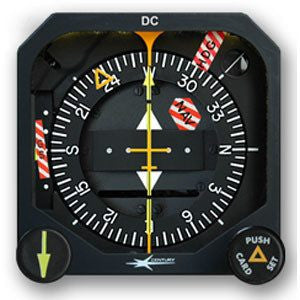 Century Flight Systems NSD-1000 Slaved Electric Navigation Situation Display (HSI)