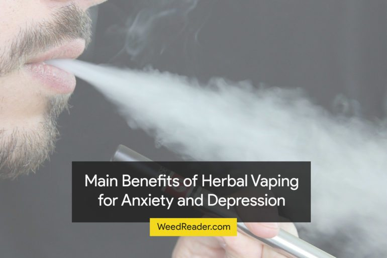 Benefits of Herbal Vaping