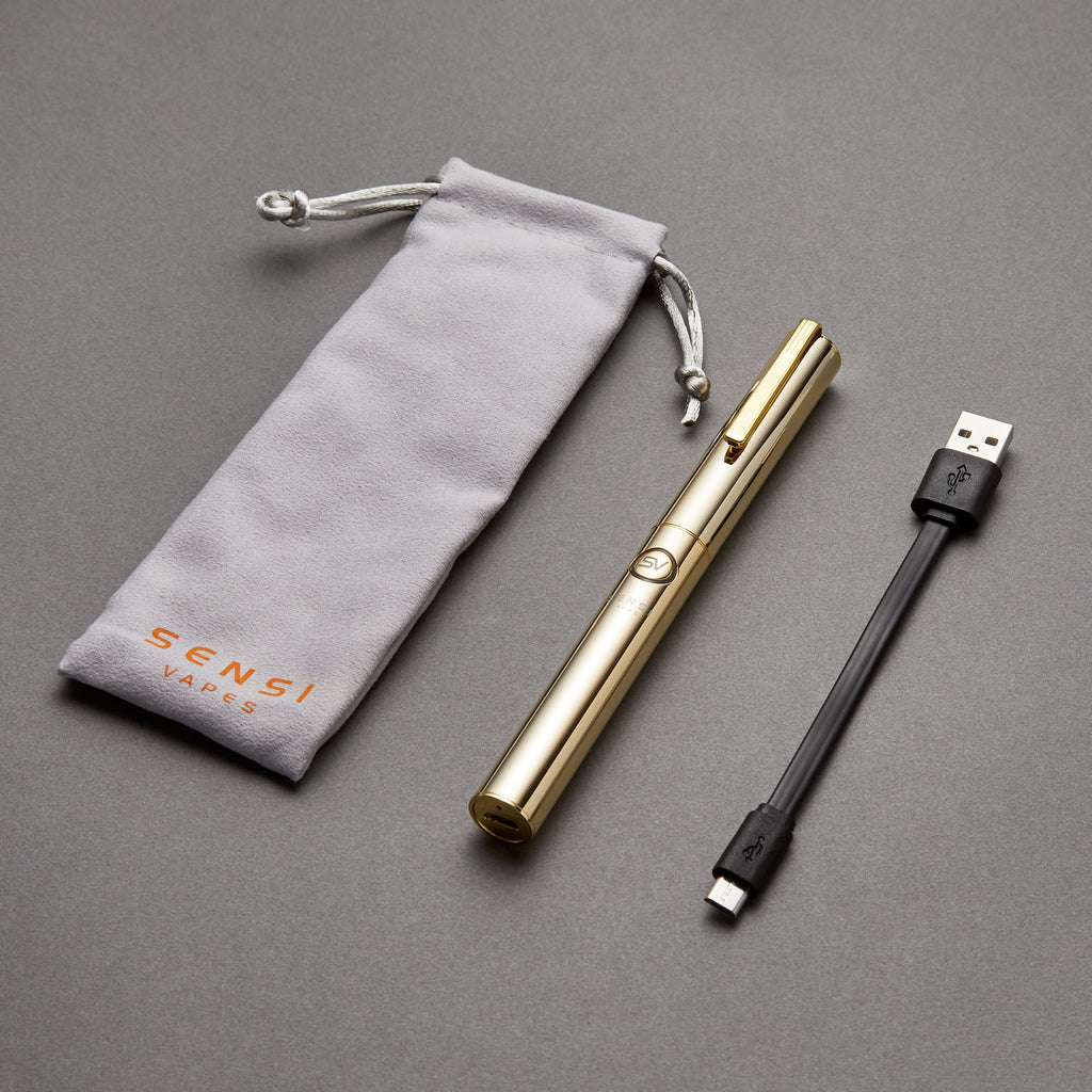 Gold Luxury Vape Pen 2.0