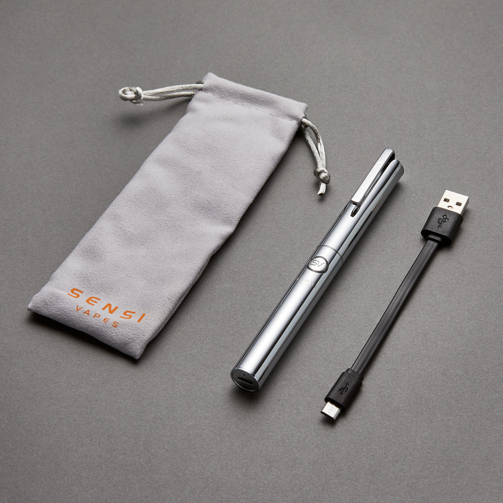 Silver Luxury Vape Pen 2.0