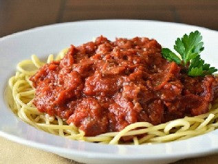 Spaghetti Meat Sauce ( Bowl Size)