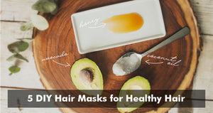 5 DIY Hair Masks for Healthy Hair