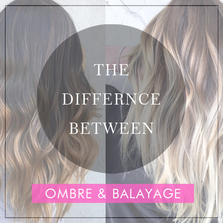 The Difference Between Ombre And Balayage