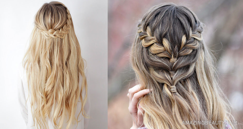 Boho Half-Up Braid