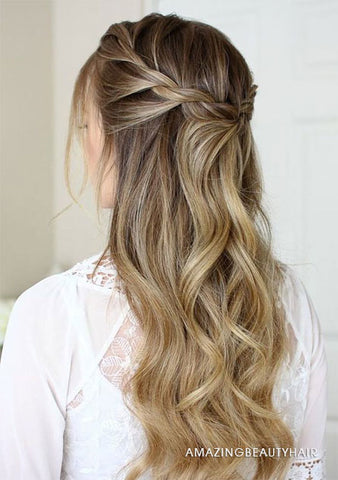 3 Up-do Hairstyles With Clip-ins