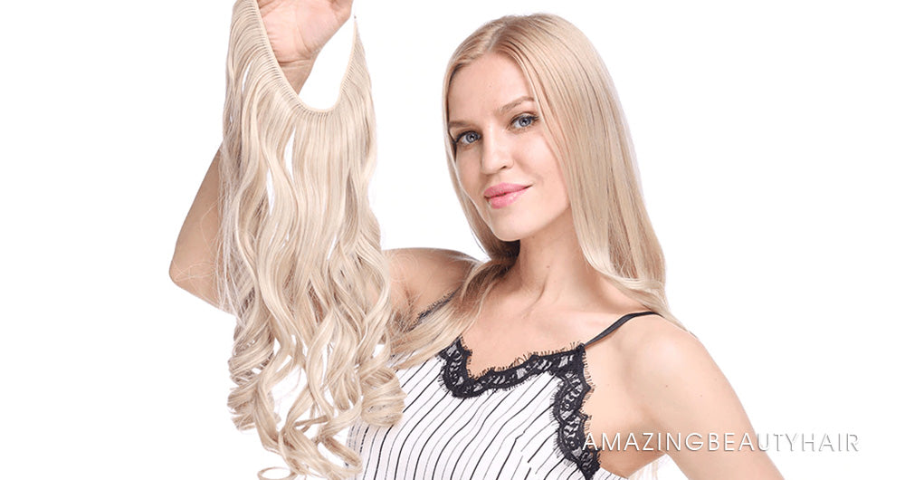 Halo Hair Extensions Image