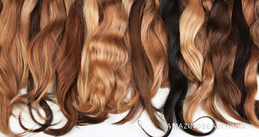 Colored Hair Extensions Image
