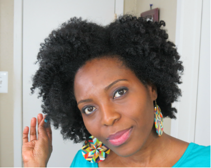 4C Hair Braid-Out