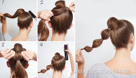 Giant Wrap Ponytail