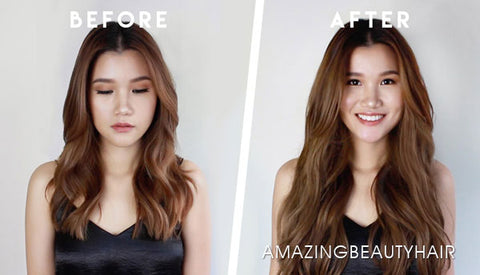Top 5 Tips To Wearing Halo Hair Extensions Amazingbeautyhair