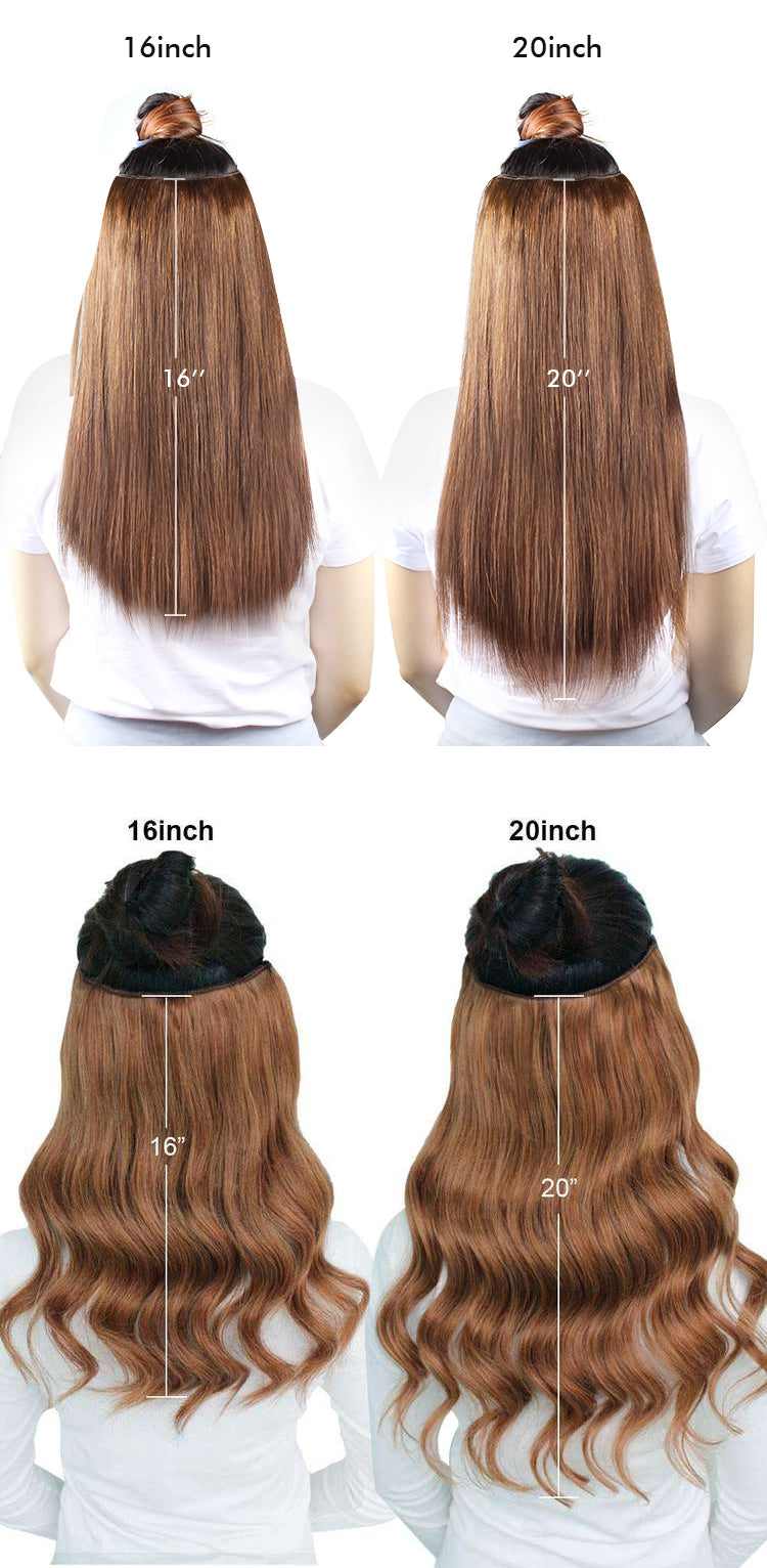 amazingbeauty hair extensions length guide chart