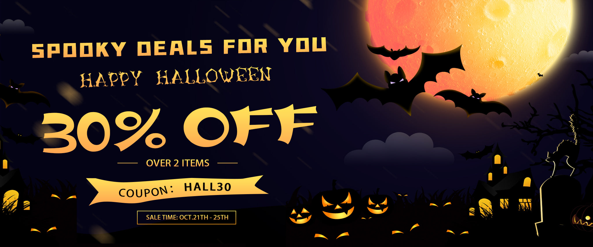 halloween flash sale 30% off 2 items amazing beauty hair extensions