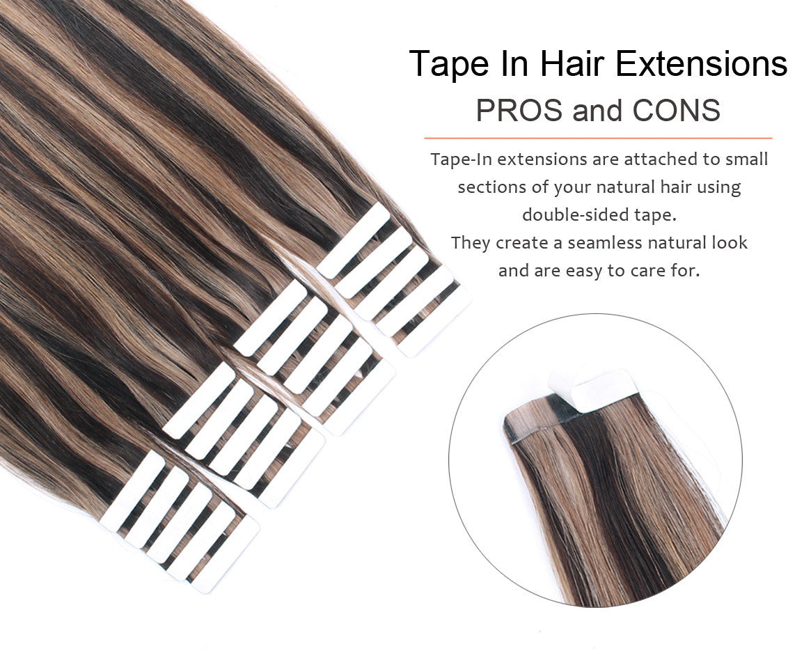 Tape In Hair Extensions Pros And Cons Amazingbeautyhair