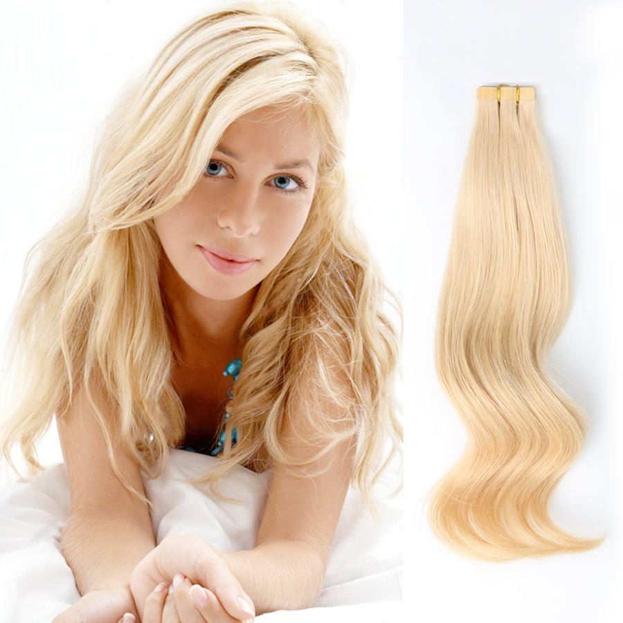 Tape  In Hair Extension #24 Honey Blonde
