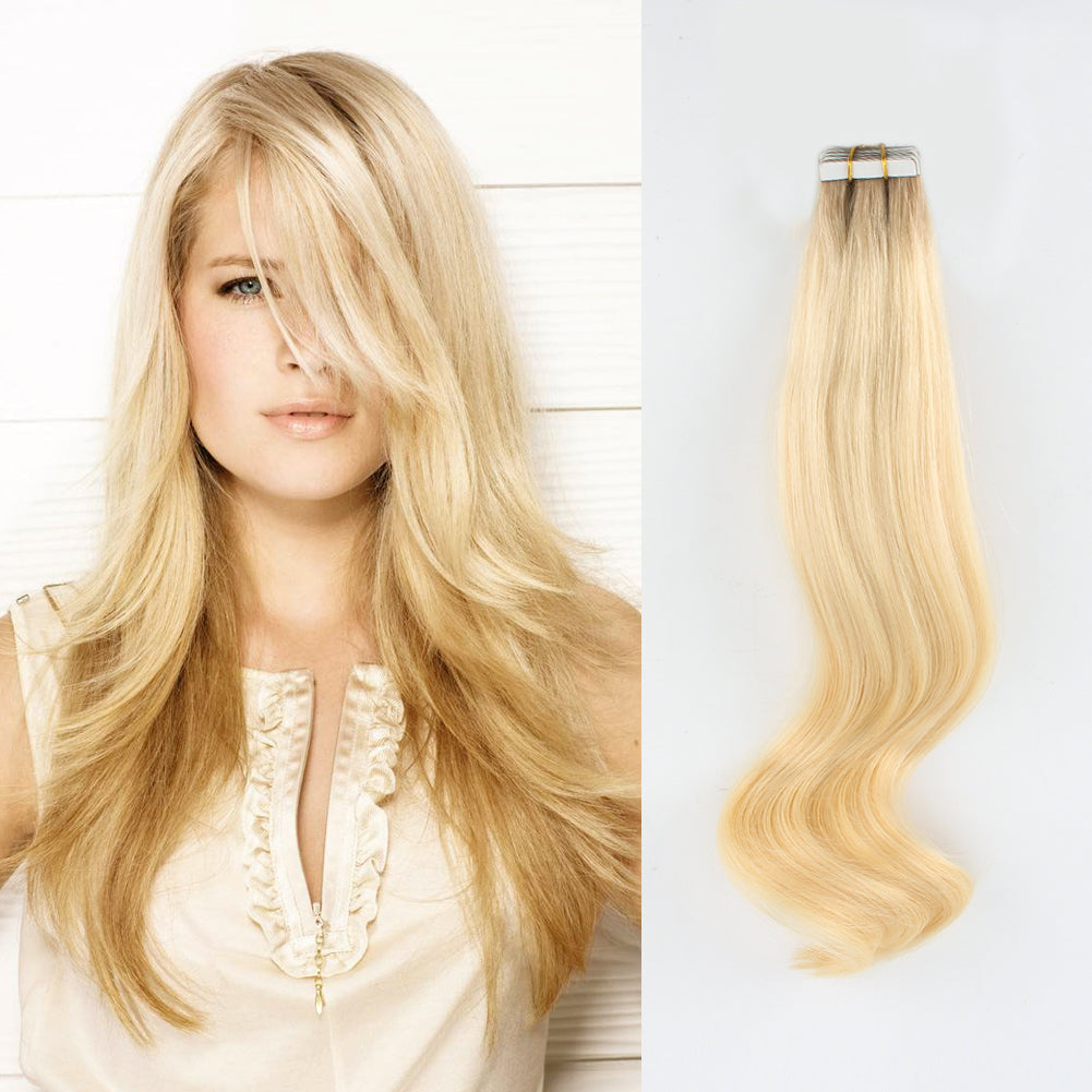 Tape In Hair Extension Rooted R10613