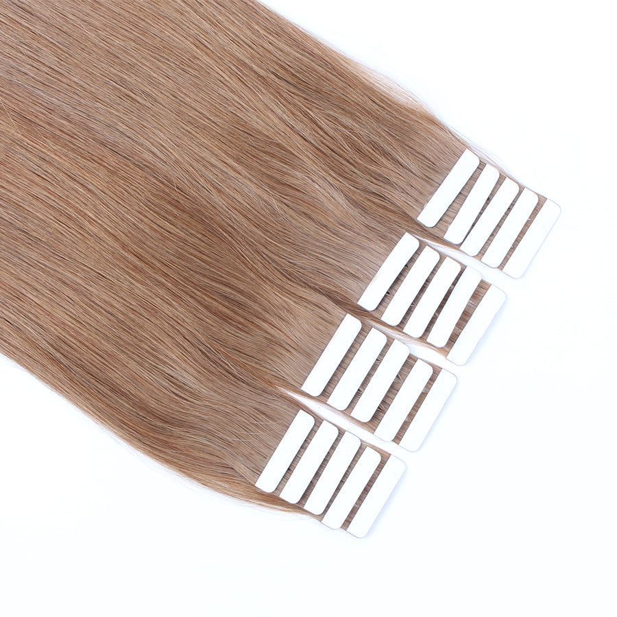 Tape  In Hair Extension #10 Medium Golden Brown