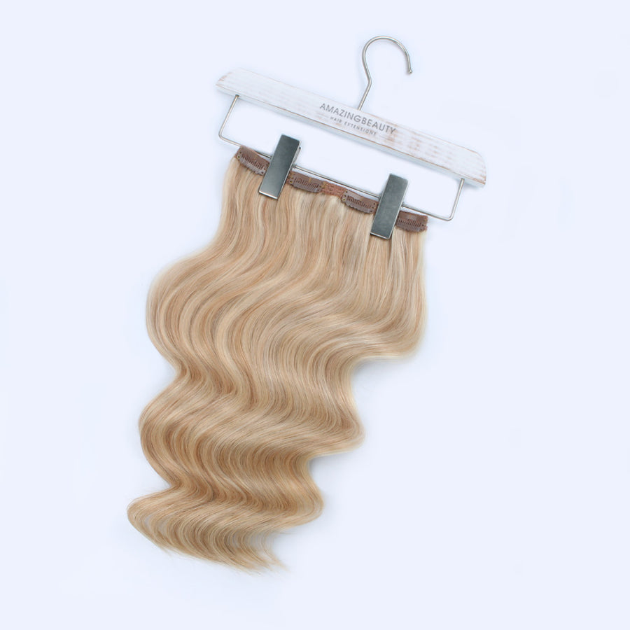 140g Highlights P12/60# Clip In Hair Extensions 20""