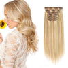 160g clip in hair extensions highlights #12/60|var-31950218887240