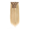 140g Highlights P12/613# Clip In Hair Extensions