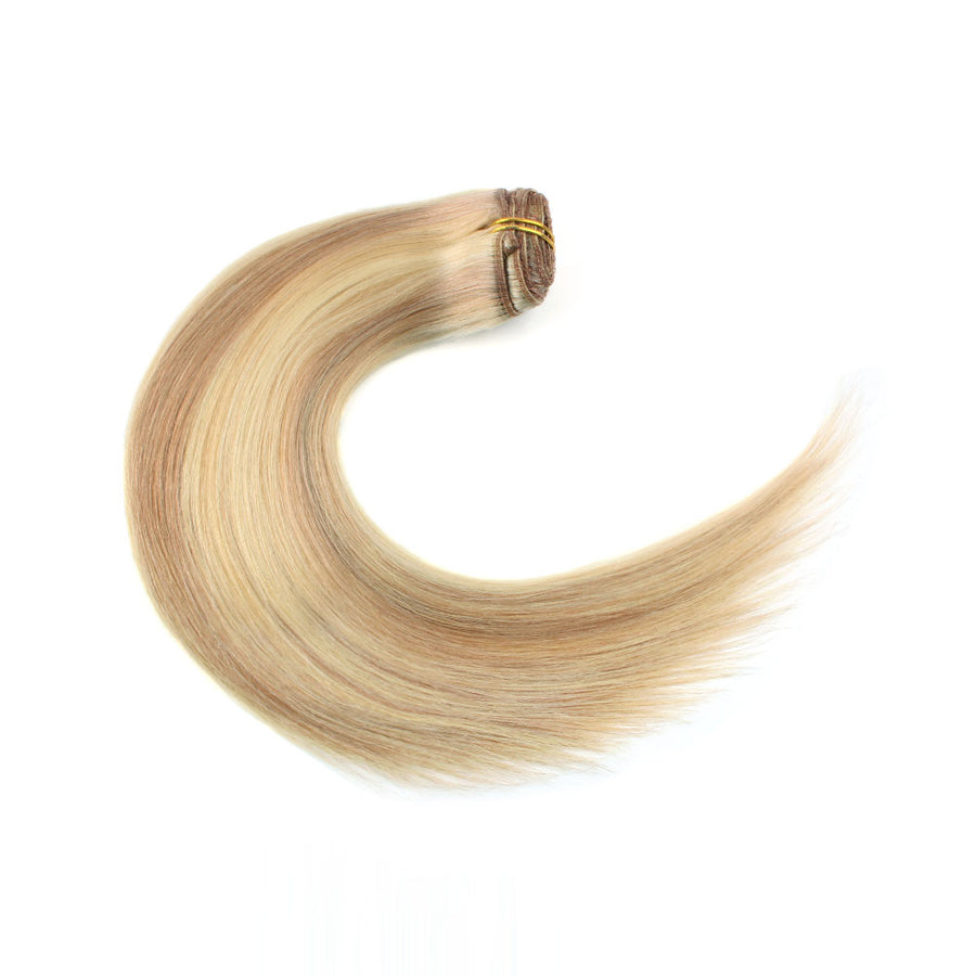 120G Highlights P12/613# Clip In Hair Extensions