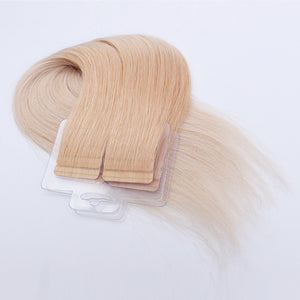 Ombre 12/60# 100% Human Hair Virgin Tape In Hair Extensions