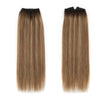 Halo Hair Extensions Rooted Highlights RP3-6/12#