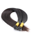 Nano Ring Hair Extensions 100% Virgin Human Hair 18 Inch