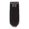 140g Off Black 1B# Clip In Hair Extensions