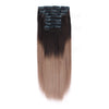 120G Ombre T2/6# Clip In Hair Extensions