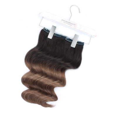 140g Ombre T2/6# Clip In Hair Extensions 20""