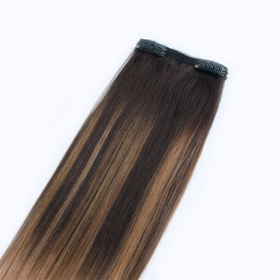 140g Balayage B2/18# Clip In Hair Extensions 20""