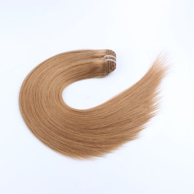 140g Strawberry Blonde 27# Clip In Hair Extensions 20""