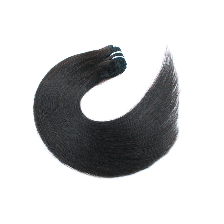 140g Dark Brown 2# Clip In Hair Extensions