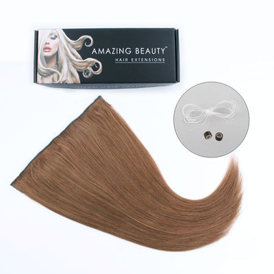 Halo Hair Extensions 30# Light Auburn