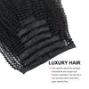 Clip in Hair Extension Afro Coily