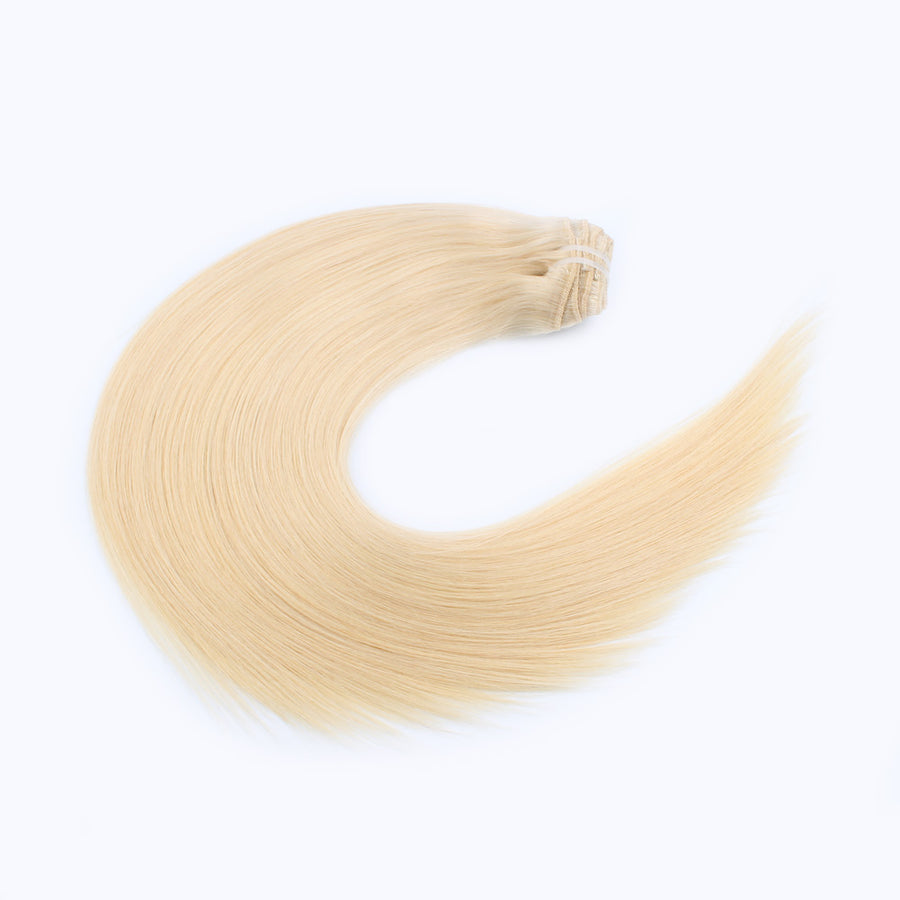 140g Beach Blonde 613# Clip In Hair Extensions