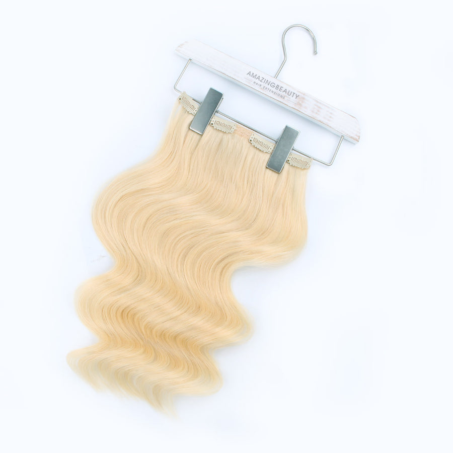 140g Beach Blonde 613# Clip In Hair Extensions 20""
