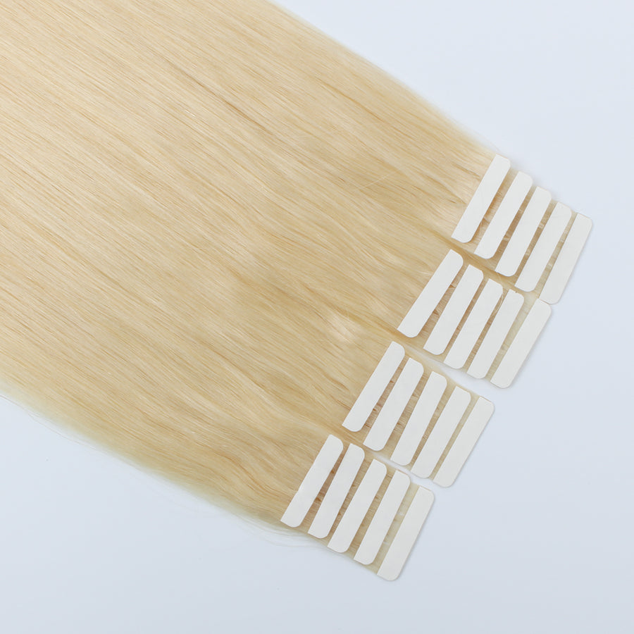 Tape In Hair Extension #613 Beach Blonde