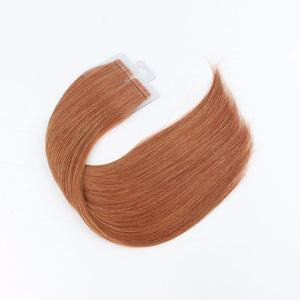 7CG# 100% Human Hair Virgin Tape In Hair Extensions
