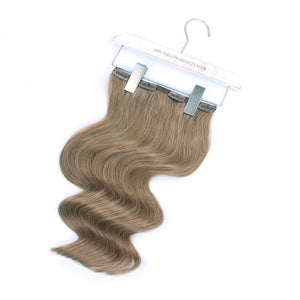 140g Ash Brown 8# Clip In Hair Extensions 20""