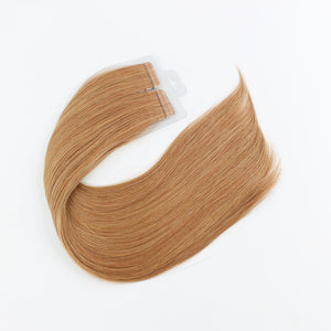 8C# 100% Human Hair Virgin Tape In Hair Extensions