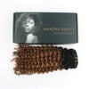 Jerry curl clip in hair extensions ombre N/30# 12"