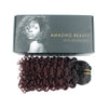 Jerry curl clip in hair extensions ombre N/99J# 12"