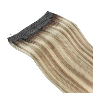 Halo Hair Extensions Rooted Highlights RP3-8/613#