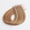 Highlights 8N/10N# 100% Human Hair Virgin Tape In Hair Extensions
