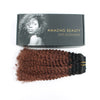 Afro curly clip in hair extensions ombre N/33# 12"