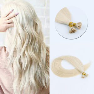 I Tip Hair Extensions #60 Ash Blonde